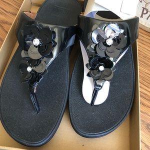 Fitflop Lulu wildflower sandals New in Box